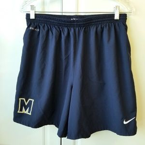 NIKE Dri-fit Drawstring Michigan State Shorts L